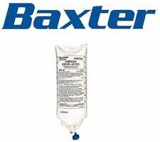 1x SALINE FOR IV INFUSION 0.9% SODIUM CHLORIDE 1000ML FREEFLEX BAXTER BAG