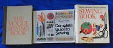 Lot of 3 Sewing Books, Vogue, Reader's Digest, Better Homes & Gardens How to Sew