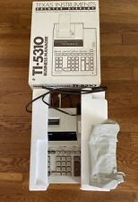 Texas Instruments TI-5310 Business Display Calculator Printer 1985