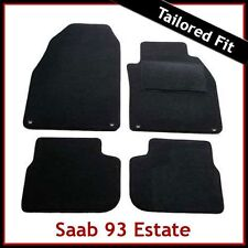 SAAB 9-3 93 Estate Pre-facelift Mk2 2002-2008 Tailored Carpet Car Mats BLACK