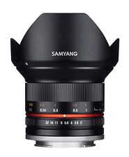 Samyang 12mm F2.0 NCS CS UMC f/2.0 Ultra Wide Angle Lens for Fujifilm Fuji X