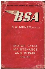 BSA Motorcycle Service   Repair Manuals for sale   eBay
