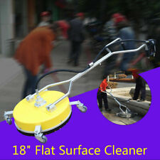 18 Flat Surface Cleaner Hotcold Water Power Pressure Washer Concrete Driveway