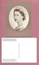 Unused 1986 National Postal Museum Postcard - Queen Elizabeth II 60th Birthday
