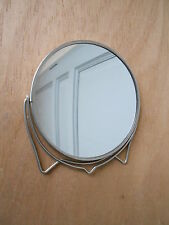 1960s Vintage french Swivel Chrome MIRROR / 2sides
