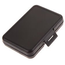 Black Memory Card Storage Holder Hard Case Protector Box Micro CF SD SDHC Card