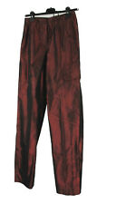 Comma Hose 36 100% Seide bordeaurot mit Glanz wie neu Cocktail trousers silk