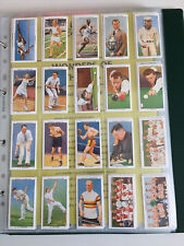 cigarette cards champions of 1936 reproductions full set