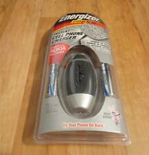 ENERGIZER ENERGI TO GO INSTANT CELL PHONE CHARGER FOR MOST NOKIA&PALM CELLS