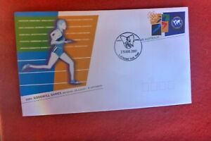 2001 GOODWILL GAMES  PRE STAMPED ENVELOPE LATROBE CYCLING POSTMARK
