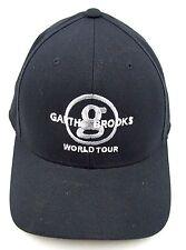 Garth Brooks World Tour Hat Baseball Cap Adjustable Country Music Concert Black