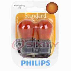 Philips Front Side Marker Light Bulb for Ford Crown Victoria E-150 Econoline by