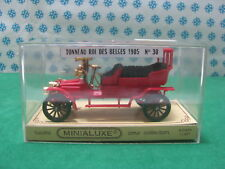 Vintage Minialux n°30  -  PANHARD & Levassor  Tonneau 1905  - 1/43