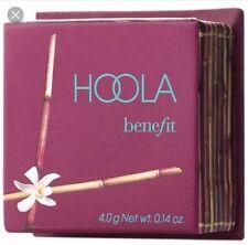 Benefit HOOLA Bronzing Powder 4g TRAVEL SIZE Bronzer Compact With Mirror & Brush