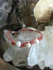 Beautiful Fresh Water Pearl Bracelet Peach