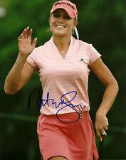 Natalie Gulbis Hand Signed 8x10 Photo Golf Autograph Signature LPGA