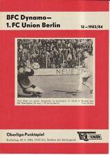 OL 83//84  SG Dynamo Dresden BSG Chemie Leipzig