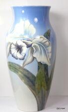 """Royal Copenhagen Porcelain Denmark Porcelain Vase Century Art Deco Xxl 13"""""""