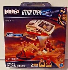 Star Trek Kre-O Light Tech Spock's Volcano Mission w Sulu & Spock 141 Pcs MISB