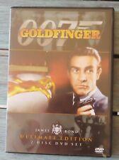 007 James Bond Goldfinger Ultimate Edition 2 DVD set With Booklet