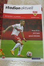 stadionzeitung  VFB STUTTGART-FC Augsburg,23-11. 14.