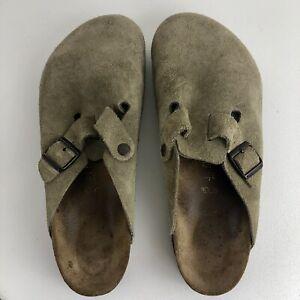 Birkenstock Mens Clog Size 45 Size 12M Taupe/Brown