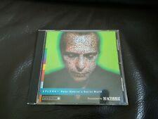 Apple Mac Xplora 1 Peter Gabriel's Secret Mundo Raro macformat cubierta de bonificación CD