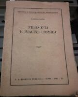 1942 - Giusso - Filosofia ed immagine cosmica