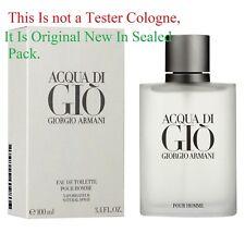 Acqua Aqua Di Gio By Giorgio Armani 3.4 Oz EDT Spray New In Sealed Box Cologne