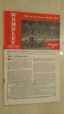 BRITISH SPEEDWAY CUP-  WEMBLEY v NEW CROSS - 3rd JULY 1947