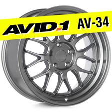 AVID.1 AV-34 18x9.5 Gun Metal 5x114.3 +30 Wheel Deep Lip AV3418955H30GM