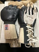 Pro Force Black Leather Kempo Gloves
