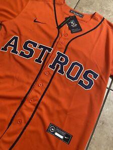 New 2020 Jose Altuve #27 Houston Astros Jersey Men Size Small