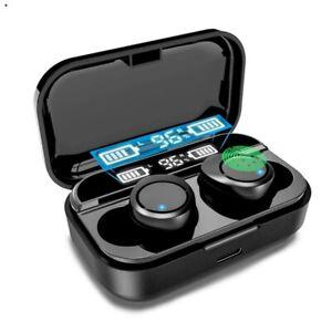 X5 écouteurs TWS sans fil Bluetooth 5.0 mini casque stéréo IPX7 avec affichage
