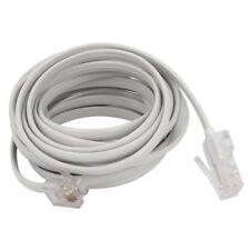 Rj11 6P4C To Rj45 8P4C Modular Phone Internet Extension Cable 3 Meter H3T4 F6A2