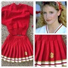 "49ers Colors Real Cheerleading Uniform 34""24"""
