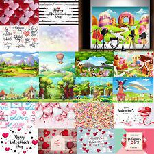 Cartoon Ice Cream Photography Backdrop Studio Background Props for Photo Decor