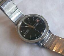 Chromatic De Luxe Wristwatch Calender 36Mm Diameter - -Working Condition