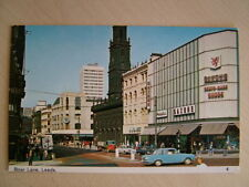 Postcard - BOAR LANE, LEEDS.  Smaller standard size. Unused.