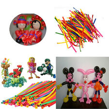 200X Colorful Magical DIY Long Twist Latex Balloons Tying Making Decoration HG