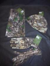 Jack Pyke Tree Camouflage Cold Weather Fleece 3 Piece Set - Hat Scarf & Gloves