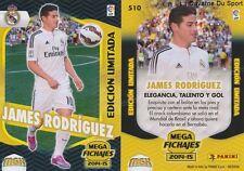 N°510 JAMES RODRIGUEZ COLOMBIA REAL MADRID LIMITED CARD PANINI MGK LIGA 2015