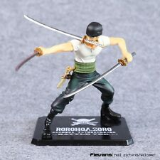 Anime One Piece Roronoa Zoro Battle Ver action figure toy 12cm