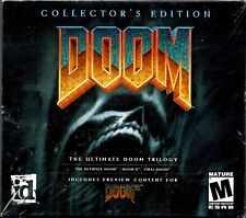 Doom Collector's Edition The Ultimate Doom Trilogy PC New XP NO Tears or Dents