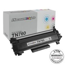 Brother TN-760 Replacement Toner Cartridge - Black