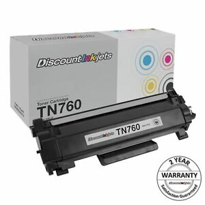 TN760 for Brother Black New w/chip Toner Cartridge TN730 MFC-L2710DW L2730DW
