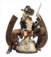ART STORM Shirow Masamune Wild Wet West Juliona Trans 1/6 PVC Figure Japan NEW