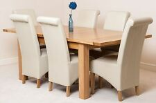 Oak Contemporary Furniture Direct Table & Chair Sets