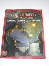 VINTAGE RAVENLOFT THE GOTHIC EARTH GAZETTEER D&D SC AD&D TSR 9498 MINT