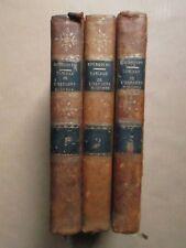 BOURGOING : TABLEAU DE L'ESPAGNE MODERNE, 1797. 3 volumes, cartes et figures